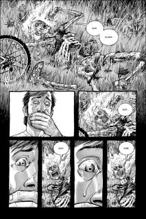 walking dead 1 passé décomposé vélo zombies