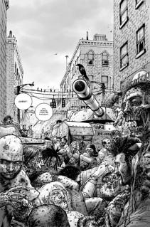 walking dead 1 passé décomposé tank zombies