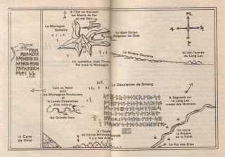 Le hobbit annoté J.R.R. Tolkien nouvelle traduction carte de Thror