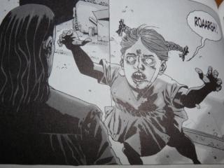 Walking Dead 5 la fille du Gouverneur