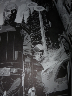 Walking Dead 5 Rick hélicoptère