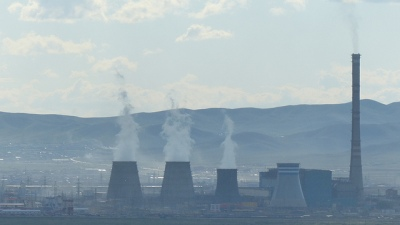 Mongolie Oulan Bator pollution usine
