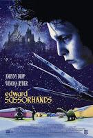 Edward aux mains d'argent Tim Burton affiche