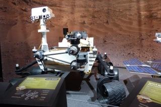 Maquette de Curiosity Explorer Mars Palais de la découverte Paris