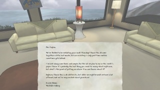 lettre à lire the novelist jeu vidéo