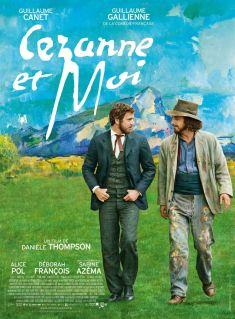 Cézanne et moi affiche Danièle Thompson