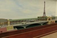 Maquette de Lagny RATP Paris Détail