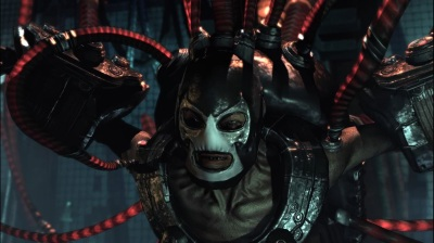Batman Arkham Asylum Boss Bane