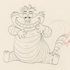 le chat de cheshire alice au pays des merveilles (1951)