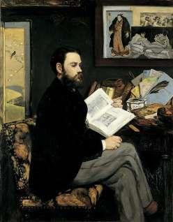 Emile Zola par Manet - Musée d'Orsay