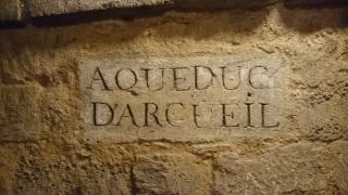 Catacombes Paris Aqueduc d'Arcueil