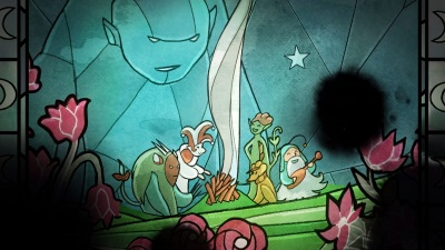 Child of Light Vitrail compagnons d'Aurora