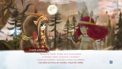 Child of Light dialogue rimé
