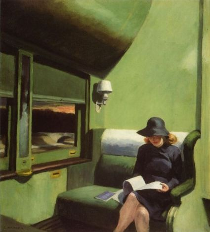 Edward Hopper - compartiment C voiture 193