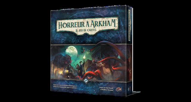 horreur à arkham jeu de cartes