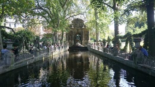 Fontaine Médicis Jardins du Luxembourg Paris