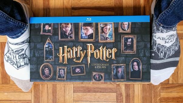 Intégrale des 8 films Harry Potter