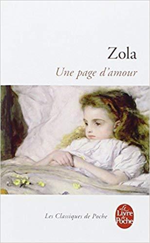 Une page d'amour Émile Zola