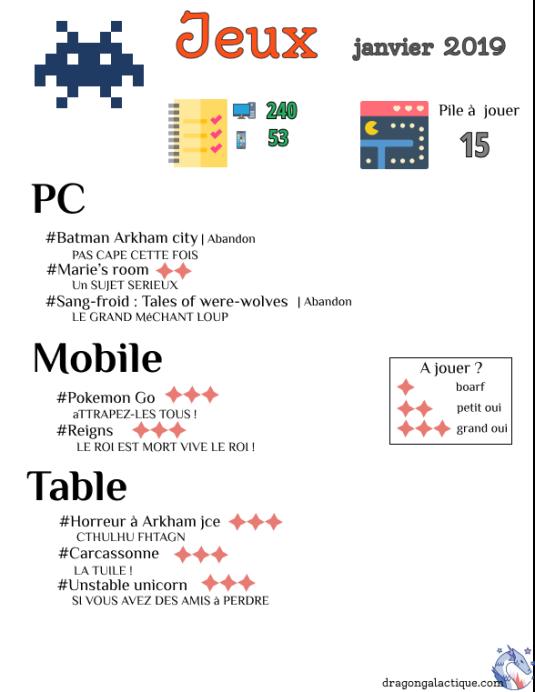 Info jeux
