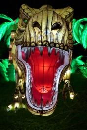 espèces en voie d'illumination t-rex