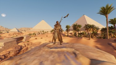 Assassin's Creed Origins pyramides