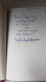 Dédicace Sigridur Hagalin Bjornsdottir