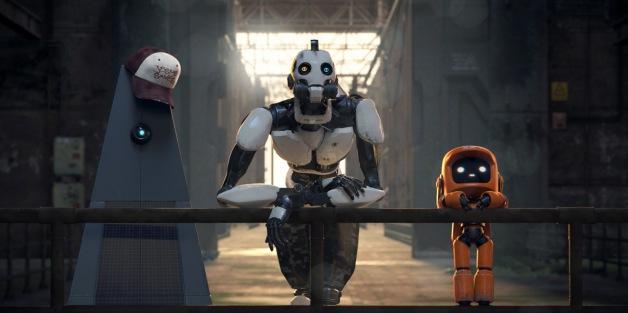 love death + robots 3 robots