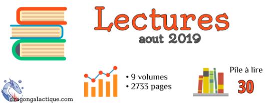 Infographie lectures aout 2019 dragon galactique