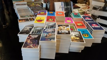 Utopiales 2019 librairie