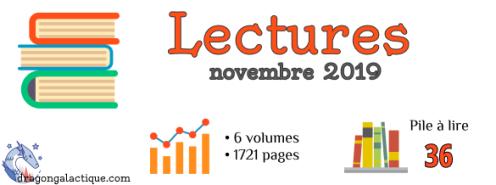 Infographie lectures dragon galactique novembre 2019