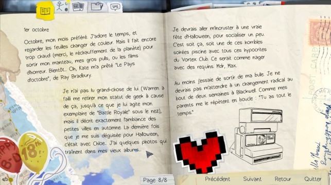 life is strange journal