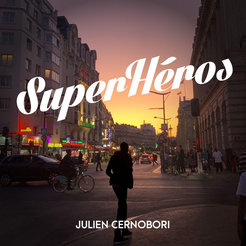 logo podcast super héros