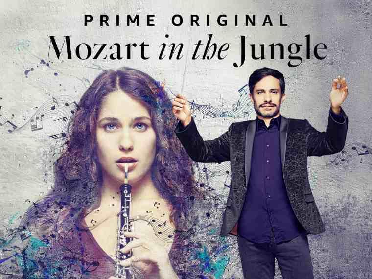 mozart in the jungle série télé